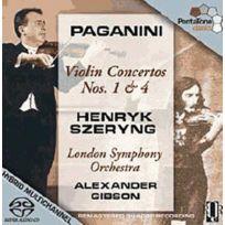 Pentatone - Niccolo Paganini - Concertos pour violon no. 1 et 4