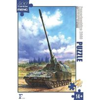 Meng Models - Meng Model 2000 Piece Puzzle - Self Propelled Howitzer Jigsaw