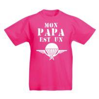 dc0e1f9952532 Stylx Design - T-shirt enfant humoristique rose