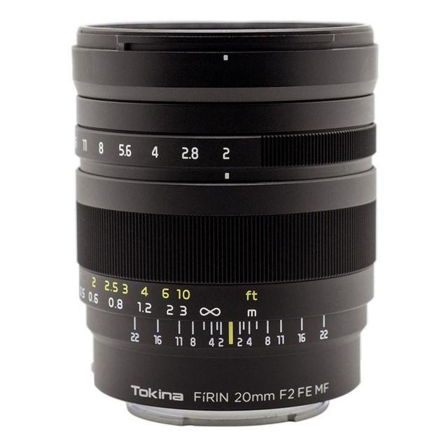 Tokina Objectif Firin 20mm F2 monture Sony Fe