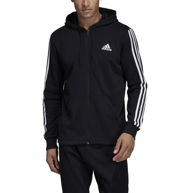 Veste à capuche Must Haves 3 Stripes French Terry