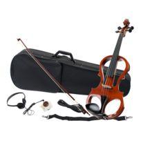 Classic Cantabile - Ev-81 Violon électrique set complet + casque audio