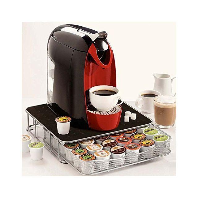 Edco Support Machine à Café Avec Tiroir De Rangement Pour Capsules