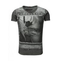Trueprodigy - Tee shirt Anthracite 126 Gris