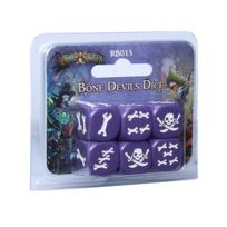 Cool Mini Or Not - Jeux de société - Rum And Bones: Bone Devils Dice