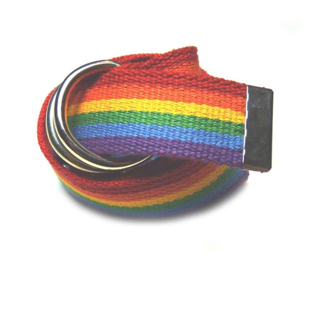 53ad968cc22f No Name - Ceinture Noname Boucle Rainbow Multi - pas cher Achat ...
