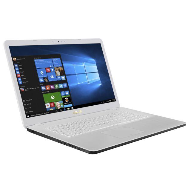 achat asus vivobook 17 r702uf gc116t blanc ordinateur portable 17 3. Black Bedroom Furniture Sets. Home Design Ideas