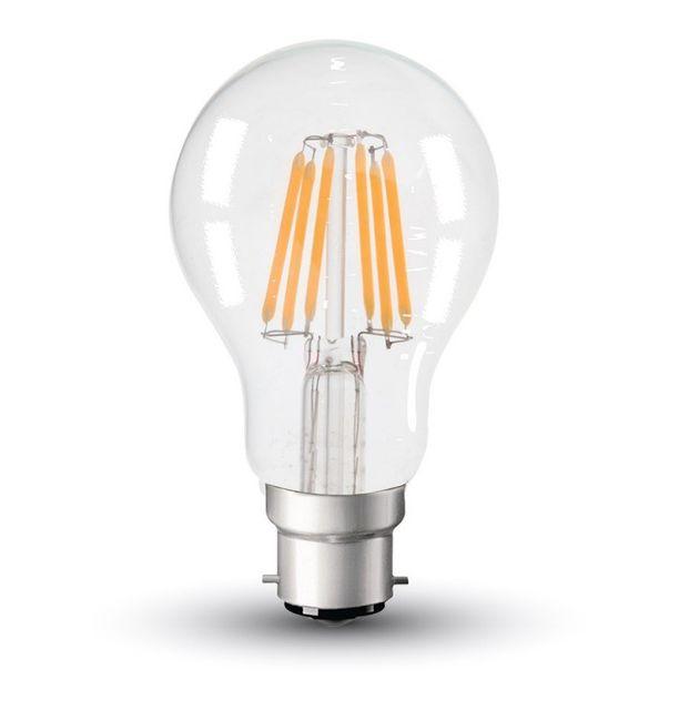 B22 Vtac Pas Ampoule Chaud Cher Led Achat 5w Filament Blanc A60 tshQrCd