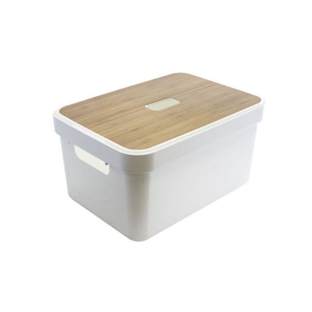 Sunware Boîte de conservation Sigma box + couvercle blanc - 13 L