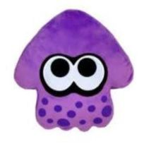Sanei - Splatoon Inkling Squid Peluche Purple 35cm