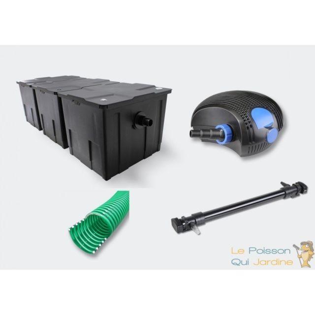 aqua occaz kit de filtration uv 110 w pour bassin de. Black Bedroom Furniture Sets. Home Design Ideas