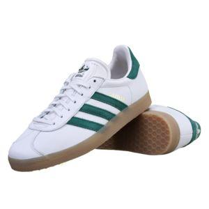 adidas gazelle verte et blanche
