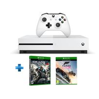 MICROSOFT - Pack Xbox One S 500GO nue + Gears of War 4 + Forza Horizon 3