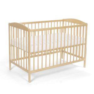 tomi lit pour b b barreaux 5 barreaux amovibles avec matelas et drap pas cher achat. Black Bedroom Furniture Sets. Home Design Ideas