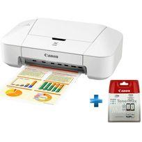 CANON - Pack imprimante PIXMA IP2850 + Cartouches Noir et Couleurs