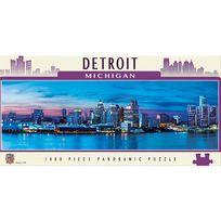Master Pieces - Puzzle 1000 pièces : Detroit, Michigan