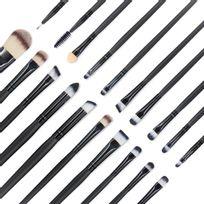 Alpexe - Ce EmaxDesign pinceaux à maquillage pour votre beauté naturelle et laisse un fini impeccable. Fait de matériaux de fibre synthétique de qualité supérieure pour une incroyable sensation au toucher. Ces brosses sont idéal pour les liquides, poudres, crèmes