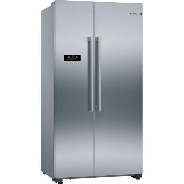 Bosch réfrigérateur américain 91cm 560l a++ nofrost inox - kan93vifp
