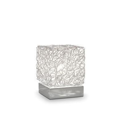 Boutica-design Lampe à poser Quadro 1x40W - Ideal Lux - 004686