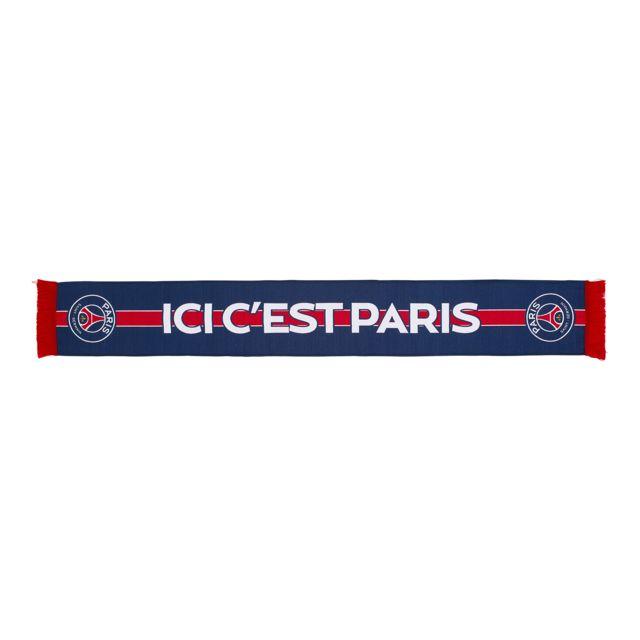 Licence Officielle - Echarpe Psg  Ici c est Paris  Bleu - pas cher ... f102a5ad5c3