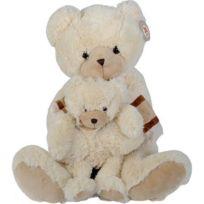 Simba Toy - Peluche Ours Avec Bébé 53 Cm