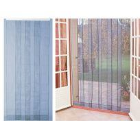 Jardideco - Rideau de porte moustiquaire Arles - 100 x 220 cm