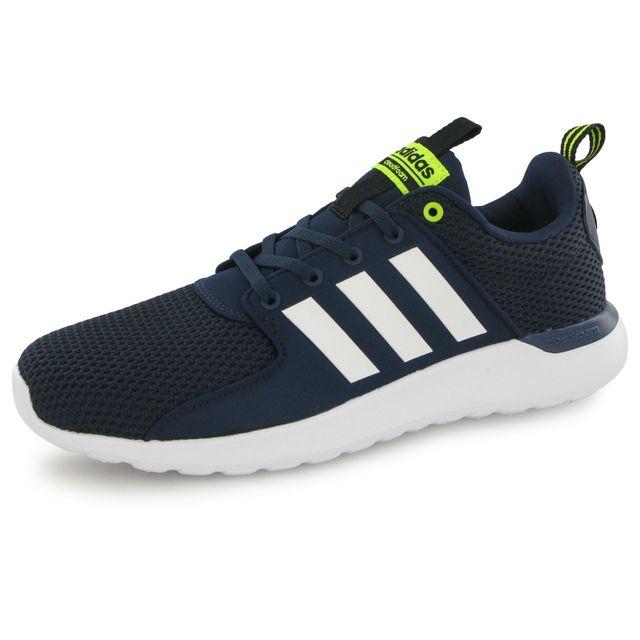 basket adidas clouafoam homme bleu