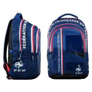 Sac à dos Fédération Française de Football 45 cm - 2 compartiments Bleu tk105dJW