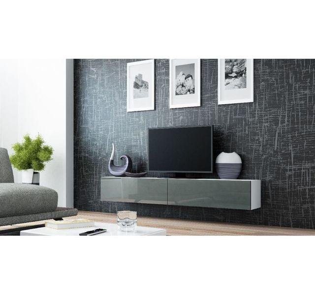 meubles tv, hi fi - achat meubles tv, hi fi pas cher - rue du commerce - Meuble Chaine Hifi Design