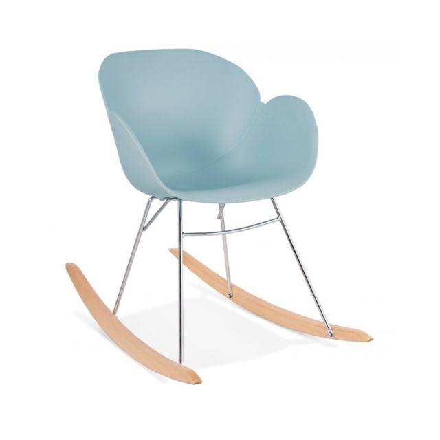 Kokoon Design Fauteuil design Knebel Blue 59x99x79 cm