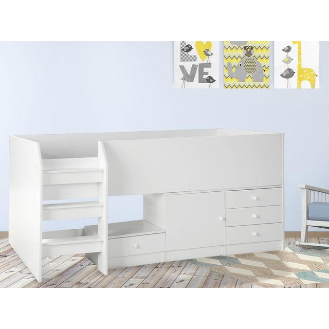 habitat et jardin lit combin ucla 1 personne pas cher achat vente lit enfant. Black Bedroom Furniture Sets. Home Design Ideas