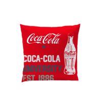 Coca Cola - coussin carré 040x040 cm 100% polyester