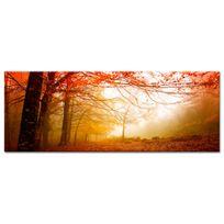 Declina - Décoration murale paysage de forêt sur toile imprimée pas chère