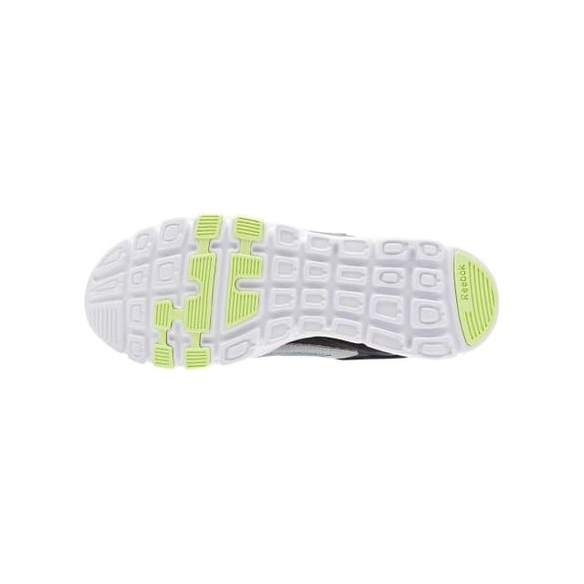 Reebok Baskets Yourflex Train 9.0 Mt gris vert blanc pas
