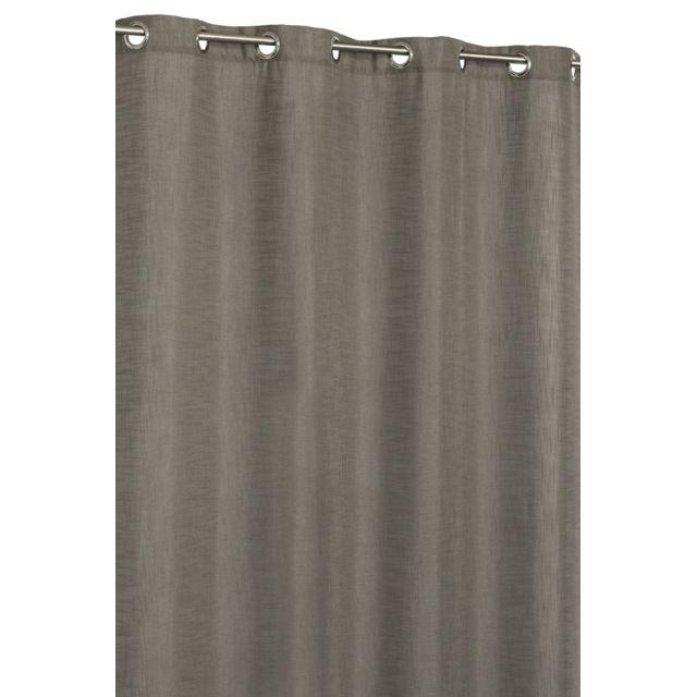 rideaudiscount rideau aspect lin lourd pas cher achat vente rideaux rueducommerce. Black Bedroom Furniture Sets. Home Design Ideas