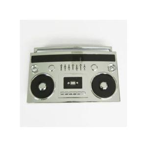universel boucle de ceinture poste radio cassette boom box noir chrome pas cher achat. Black Bedroom Furniture Sets. Home Design Ideas