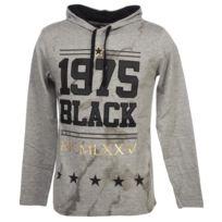 Rivaldi Black - Tee shirt manches longues Aberlu gris cap ml tee Gris 52154