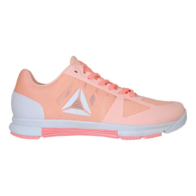 Reebok - Baskets CrossFit Speed Tr 2.0 corail blanc femme - pas cher Achat    Vente Chaussures fitness - RueDuCommerce 49c0dd9dbc3