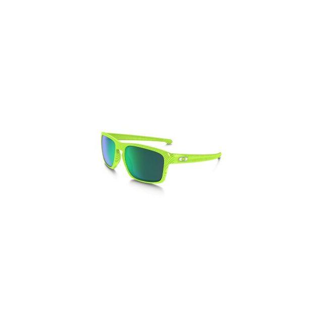 258746c65d92ee Oakley - Lunettes Silver Fingerprint vert verres Jade Iridium - pas ...