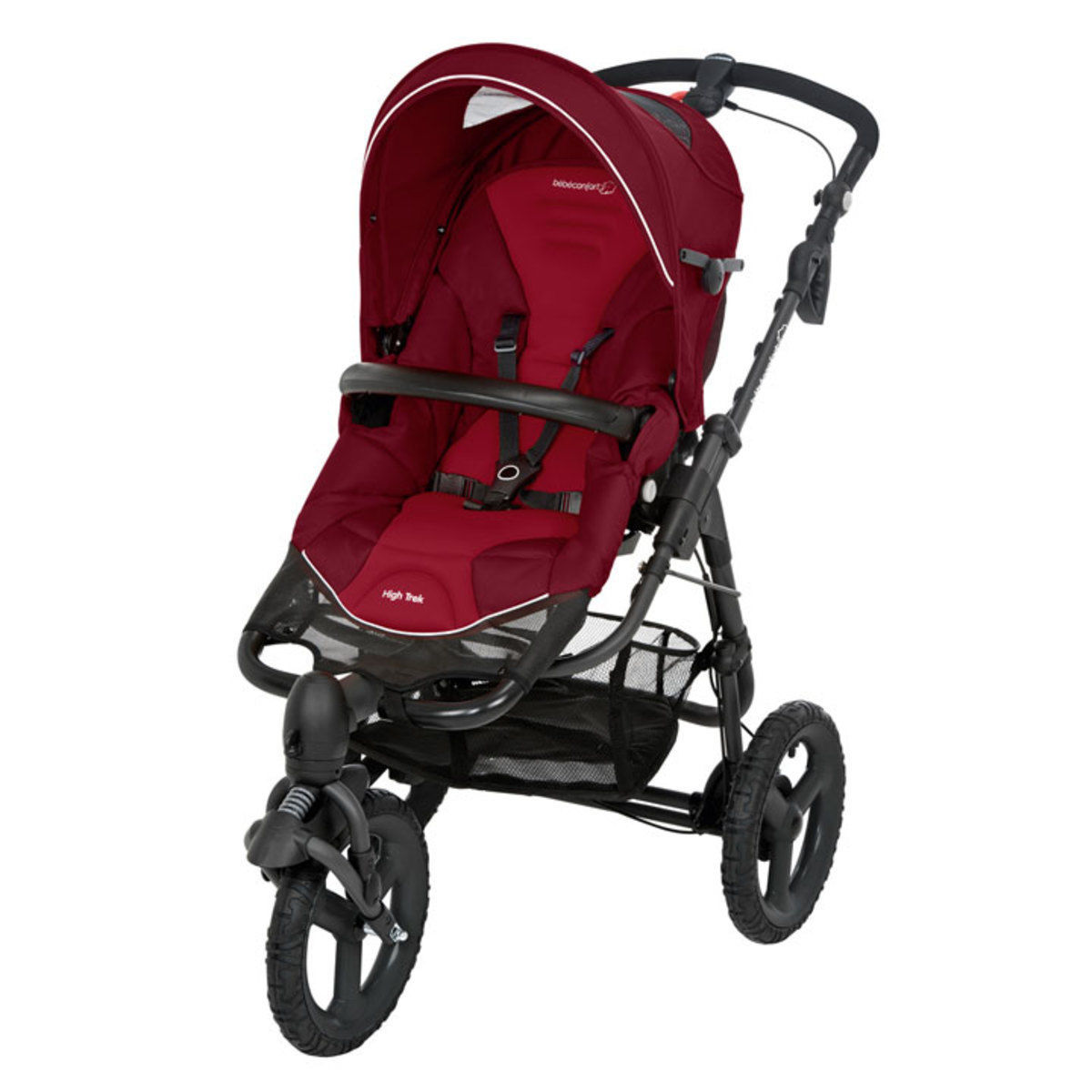 Poussette 3 roues HIGH TRECK - Robin Red