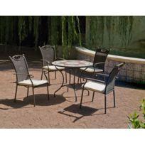 salon jardin mosaique - Achat salon jardin mosaique pas cher - Rue ...