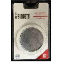 Bialetti - Grille Micro-Filtre + 3 joints pour Moka 12-18 tasses Réf. 0800006