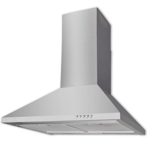 Vidaxl - Hotte plate en acier inoxydable 600 mm