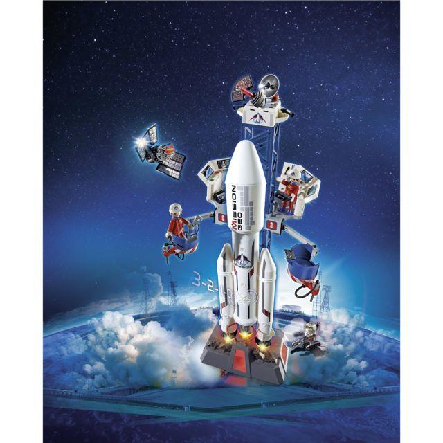 PLAYMOBIL - 6195 : City Action : Base de lancement avec fusée