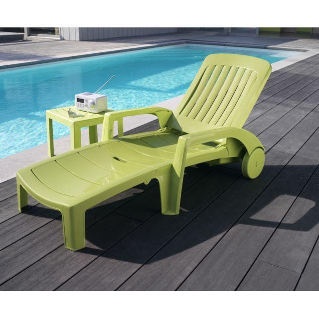 Grosfillex - bains de soleil - lot de 2 -fidji de couleur ...