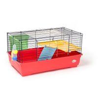 Animalis - Cage Équipée pour Cobaye - 80x48,5x42cm