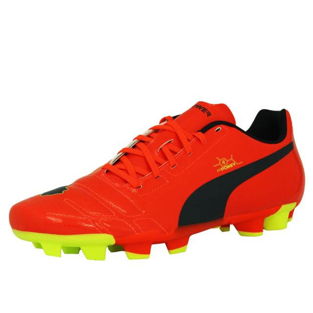 size 40 2ca62 7bc3c Puma - Evopower 4 Fg Chaussures de Football Homme Orange