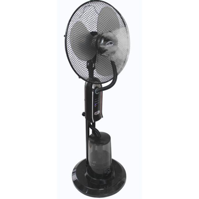 Domair Brumiventilateur noir 40cm