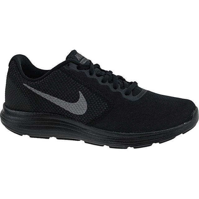 Nike Revolution 3 819300 012 Homme Baskets Noir pas cher