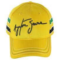 Ayrton Senna - Casquette Helmet jaune